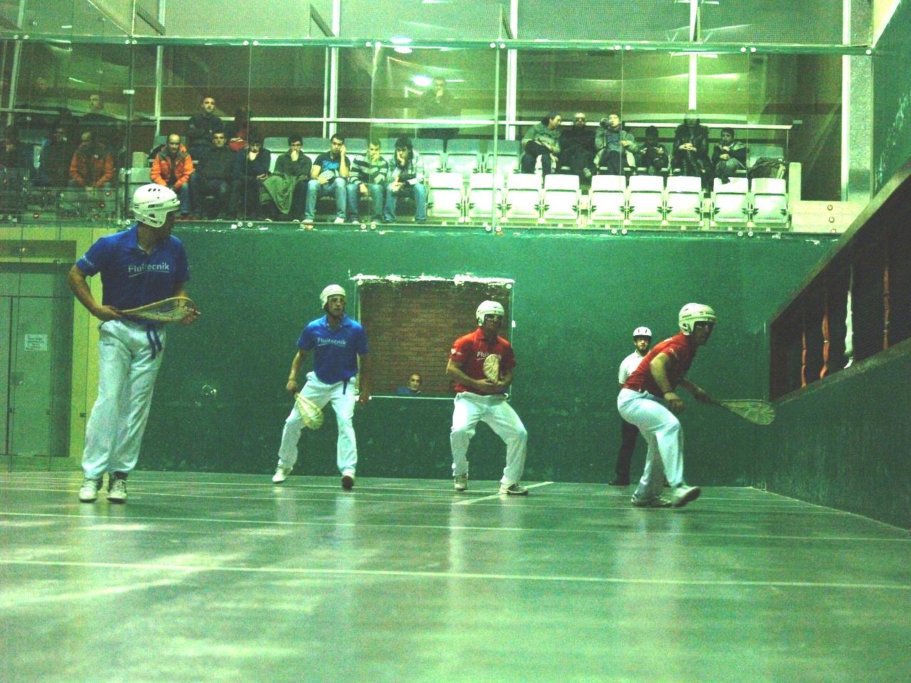 federacion navarra de pelota: